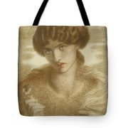 Water Willow - Study Of Female Head And Shoulders Tote Bag