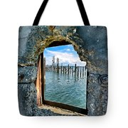 Water Window Tote Bag