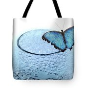 Water With Butterfly Tote Bag
