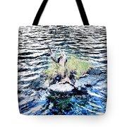 Water Woodwork Tote Bag