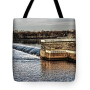 Water Works Gazebo Tote Bag