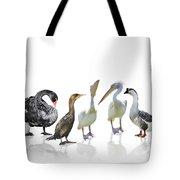 Waterbirds Tote Bag