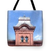 Waterbury Vermont Train Station Tote Bag