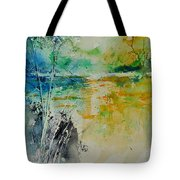 Watercolor 018080 Tote Bag