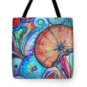 Watercolor #4 Sea Urchins Tote Bag