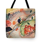 Watercolor 6 Wassily Kandinsky, 1911 Tote Bag