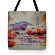 Watercolor Anseremme Tote Bag