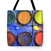 Watercolor Box Tote Bag