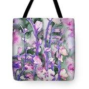Watercolor - Cherry Blossoms Tote Bag
