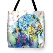 Watercolor Dachshund Tote Bag