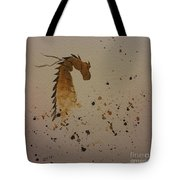 Watercolor Dragon Tote Bag by Ginny Youngblood