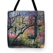 Watercolor Forest Tote Bag by Lorraine Devon Wilke