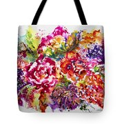 Watercolor Garden IIi Tote Bag