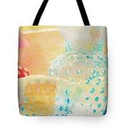 Watercolor Glassware Tote Bag