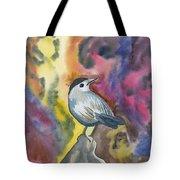 Watercolor - Gray Catbird Tote Bag