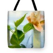 Watercolor Hibiscus Tote Bag