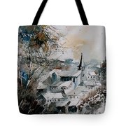 Watercolor Houyet  Tote Bag