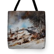 Watercolor Jjook Tote Bag