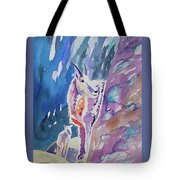 Watercolor - Mountain Goat With Young Tote Bag