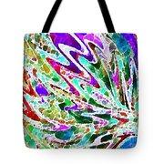 Watercolor My World Tote Bag