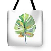 Watercolor Palm Leaf- Art By Linda Woods Tote Bag by Linda Woods