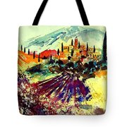 Watercolor  Provence 07 Tote Bag