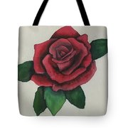 Watercolor Rose Tote Bag