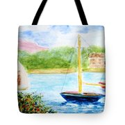 Watercolor Sail Tote Bag