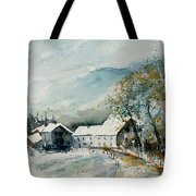 Watercolor Sechery 1207 Tote Bag