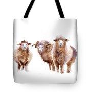 Watercolor Sheep Tote Bag