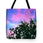 Watercolor Sky Tote Bag