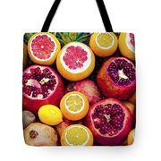 Watercolor Superfood Combo Tote Bag by Celestial Images