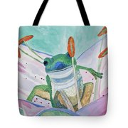 Watercolor - Tree Frog Tote Bag
