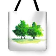 Watercolor Tree Tote Bag