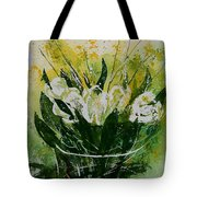 Watercolor Tulips Tote Bag