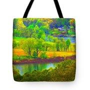 Watercolor View Tote Bag