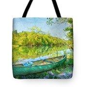 Watercolors At The Lake Tote Bag
