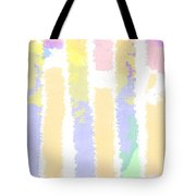Watercolour Abstract Strips 2 Tote Bag