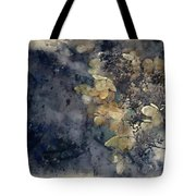 Watercolour Painting Of Stunning Dried Hydrangea Hortensia Flowe Tote Bag