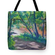 Watercress Beach On The Current River   Tote Bag