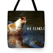 Waterdog Quote Tote Bag