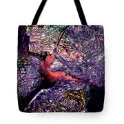 Waterdrop Abstract Tote Bag