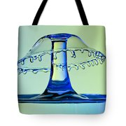 Waterdrop Collision 3 Tote Bag