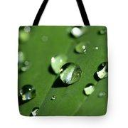 Waterdrops Tote Bag