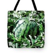 Waterelons In A Vegetable Garden Tote Bag