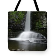 Waterfall At Childs Park Pa Tote Bag