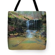 Waterfall At Don Robinson State Park 1 Tote Bag
