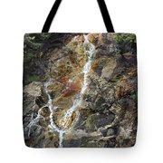 Waterfall At Lake Willoughby  Tote Bag