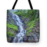 Waterfall Below The Garden Wall Tote Bag