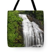 Waterfall Closeup Tote Bag